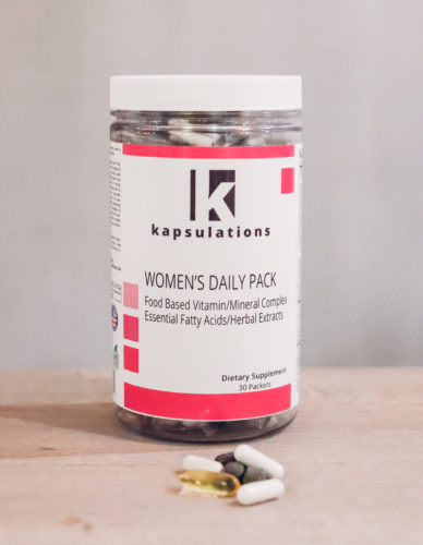 kapsulations women's daily pack