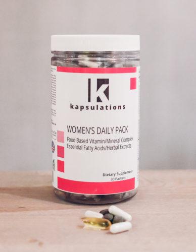 kapsulations women's daily pack
