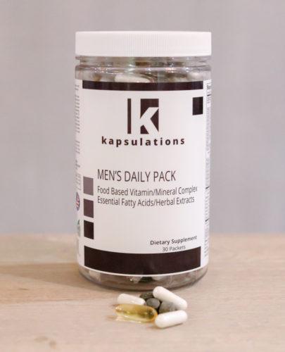 kapsulations men's daily pack